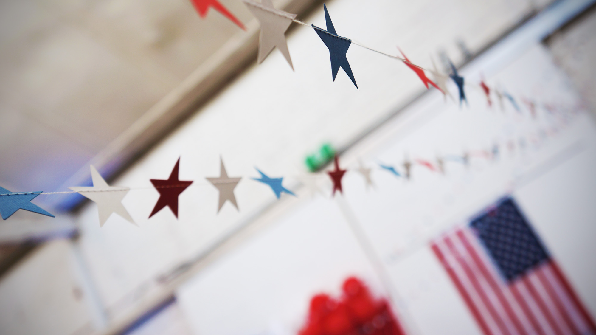 American Themed Party | the Path Less Traveled
